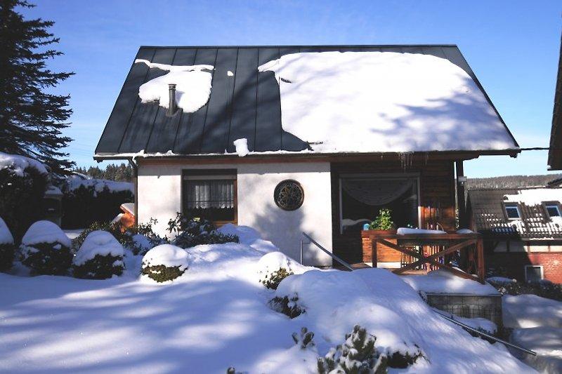 Ferienhaus Axel im Winter