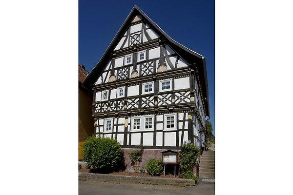 unser Schmuckfachwerkhaus aus dem Jahr 1700