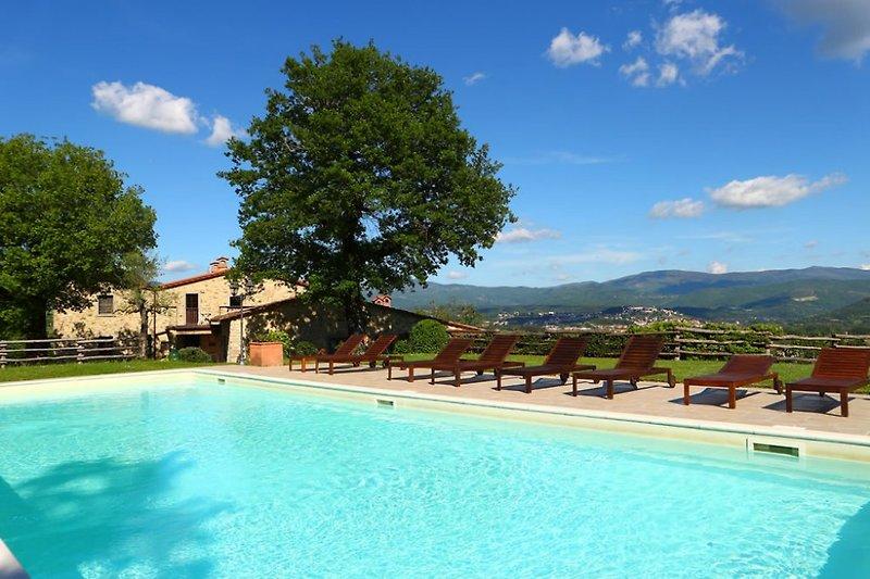 Toskana: Ferienwohnung mit Pool