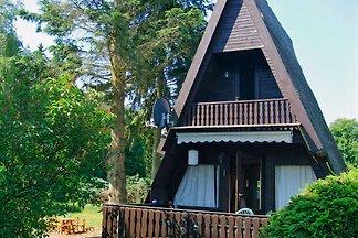 Ruhige Finnhütte am Globsowsee