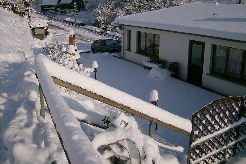 Fewo Königstein im Winter