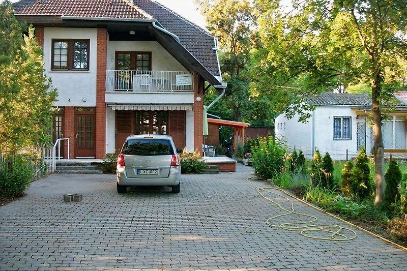 Ihr Ferienhaus mit Parkplatz
