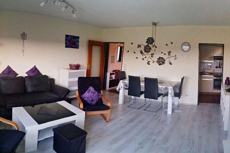 Wohnzimmer,Essecke