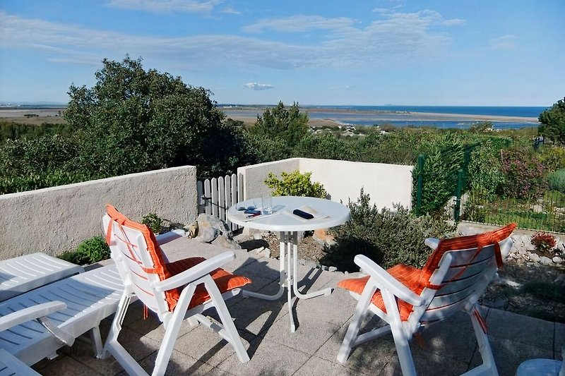 Terrasse an der Garrigue