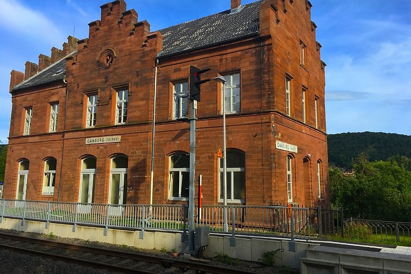 Bahnhof Gleisseite