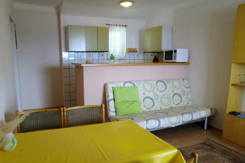 Mandarina, Wohnung für 4 Pers.
