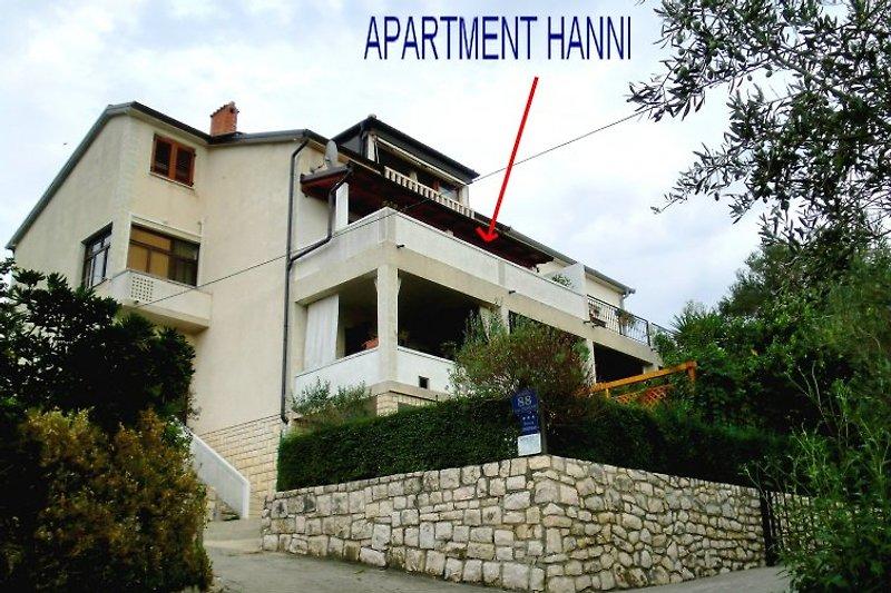 Apart/4 Hanni, das Haus