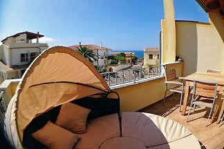 Casa Oliva mit Meerblick, strandnah