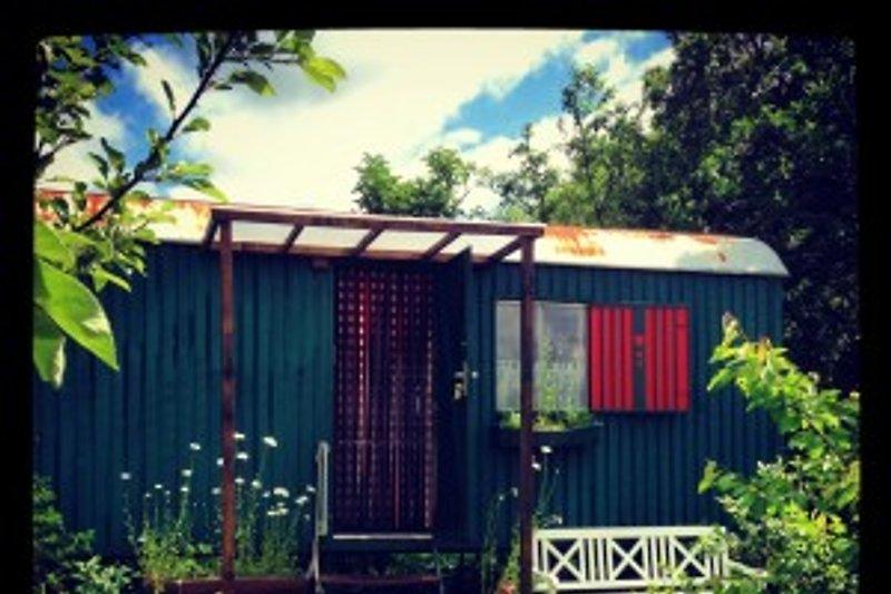 Sommer am Bauwagen für 4 Pers. mit separater Terrasse/