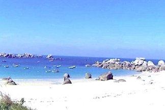Casa a 130 m de una  bella playa
