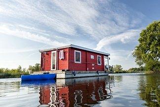 Casa flotante en Lychen