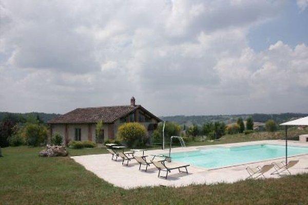Casa de terracota en Rapolano Terme - imágen 1