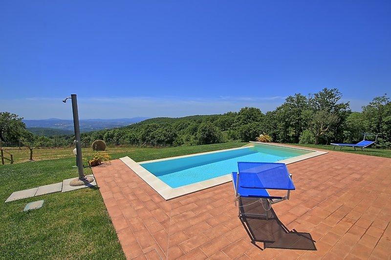 Villa Elisa - Pool mit Panorama