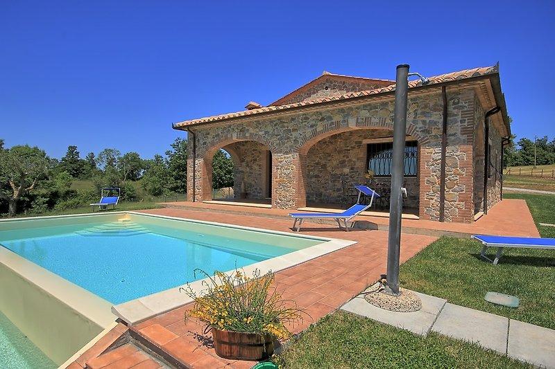Villa Elisa -Pool und Porticato