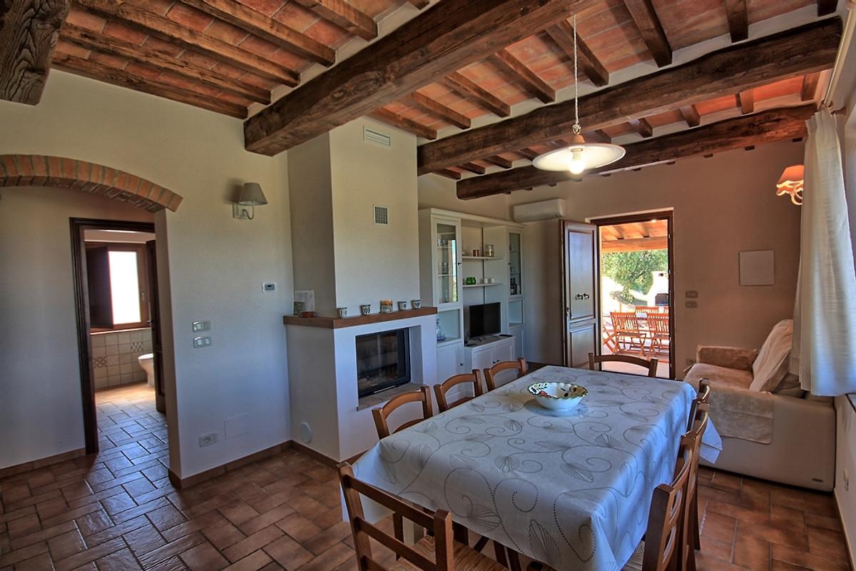 Le villette villa in cinigiano firma ars toscana ferienwohnungen