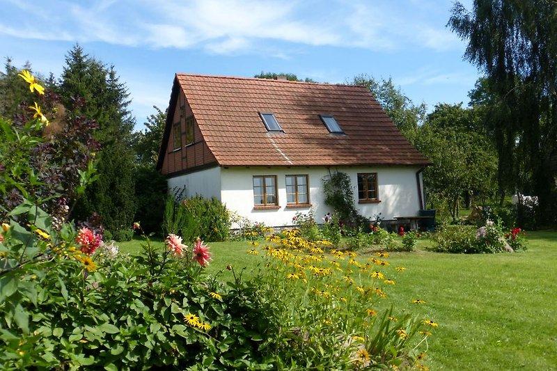 Haus Anna vom Garten aus
