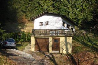 Einzelnstehendes Ferienhaus am Waldrand, am Ende einer Sackgasse, oberhalb des Dorfes Bontkirchen. W-Lan kostenlos