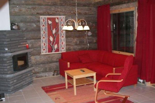 Snowbear Log Cabin in Akaslompolo (Yllas) - Bild 1