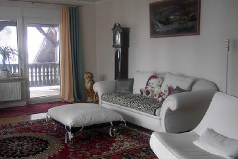 Wohnzimmer Ferienwohnung Kalinka