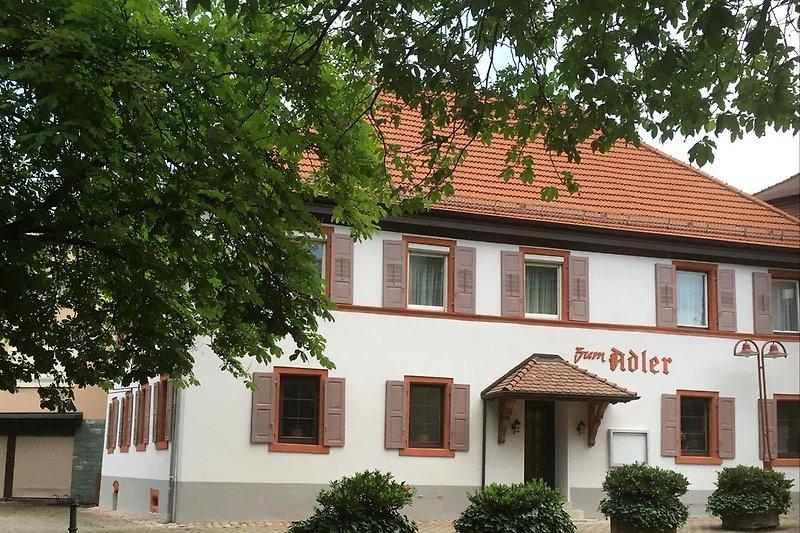 Außenaufnahme von der Steinbacherstraße
