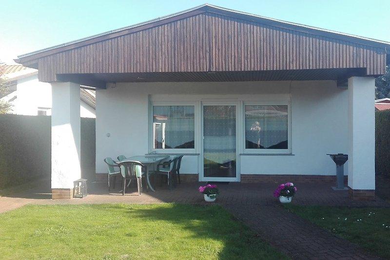 Ferienhaus mit 20 m² Terrasse