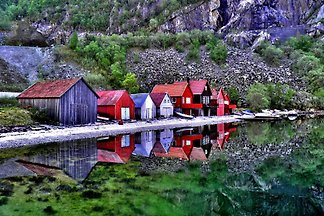 """Ferienhaus """"Frafjord"""" - Traumlage!"""