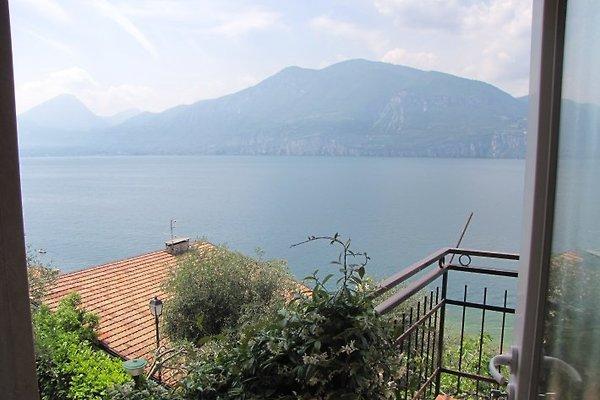 Villa Olivo calme avec vue sur le lac à Brenzone - Image 1