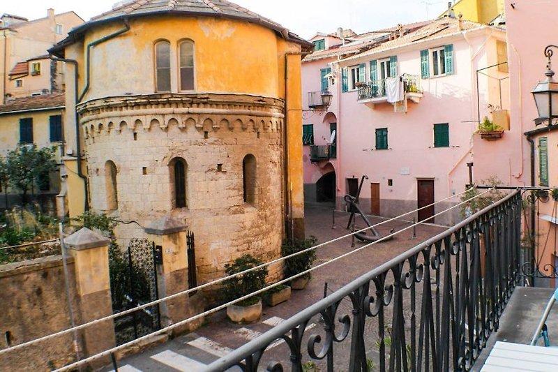 Blick ins historische Viertel