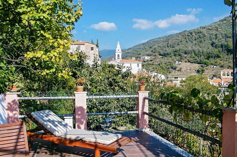 Terrasse mit toller Aussicht