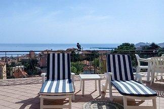 Penthouse Mari - vue panoramique sur la mer