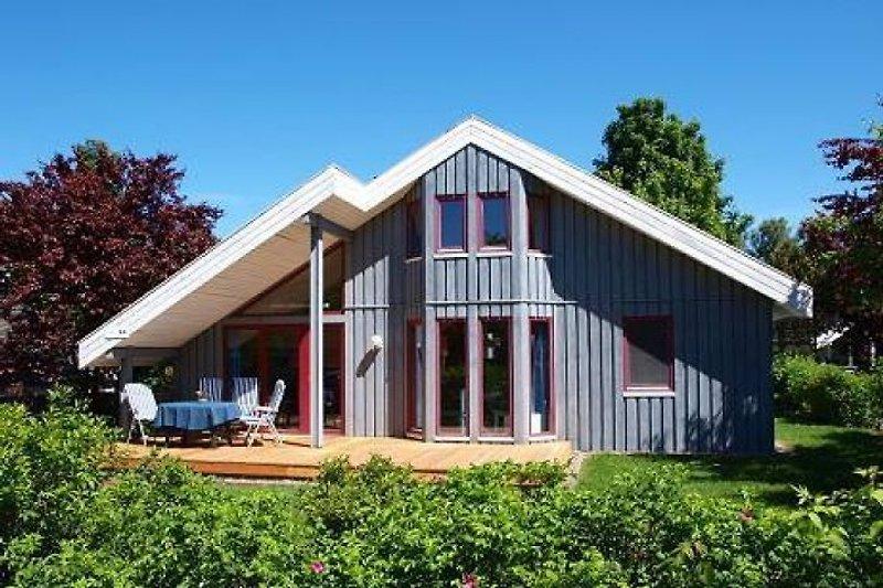 Aussenansicht Ferienhaus44.de in Mirow