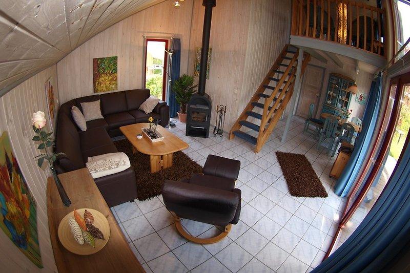 Wohnbereich - Ferienhaus44.de