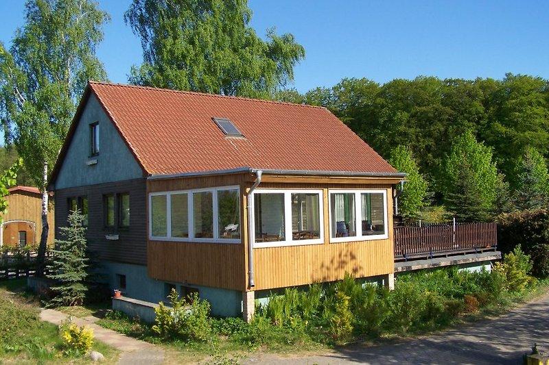 Ferienhaus KUKUK mit Wintergarten