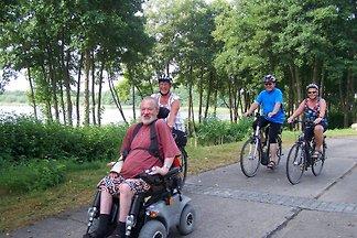 Rollstuhlfahrer-FeWo am See