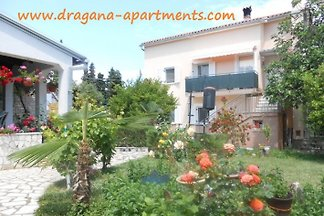 House Dragana in the near from the beach