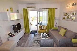 Design apartment mit Meerblick