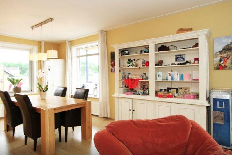 Vakantiehuismahalo 5 min zum strand ferienhaus in wijk aan zee mieten - Hangematte wohnzimmer ...