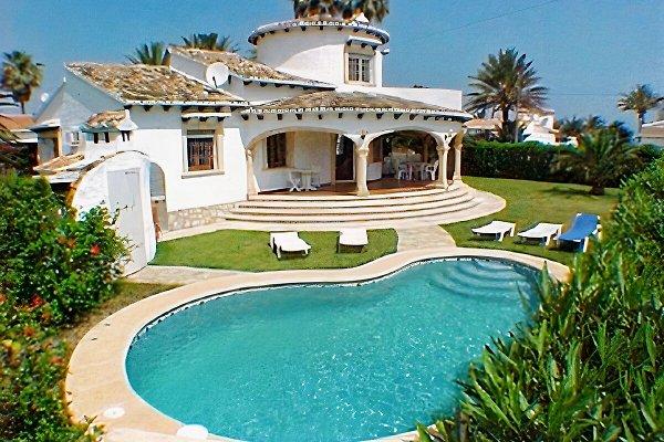 Villa Rani 50 m de la playa. en Denia - imágen 1
