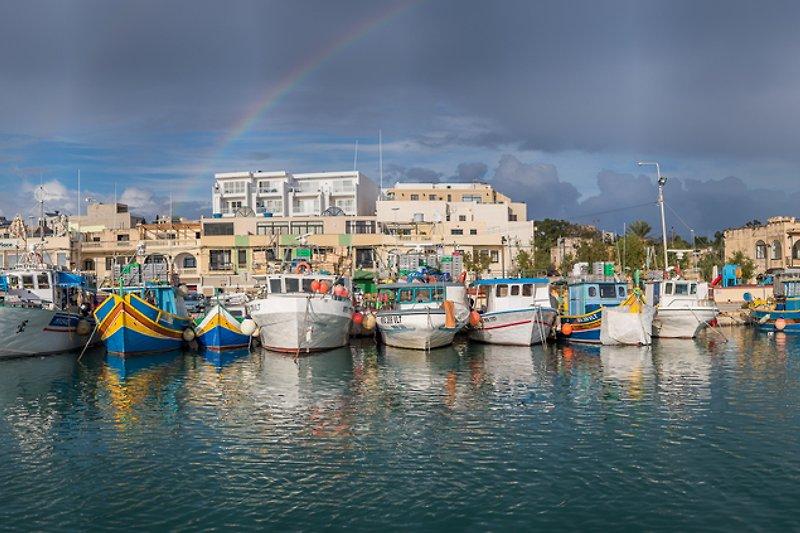 Fishermens harbour of Marsaxlokk