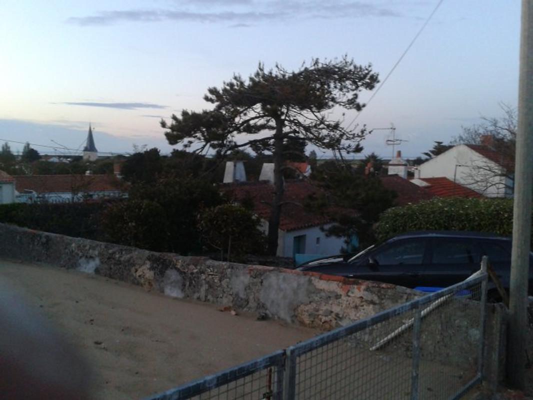 Franse eiland noirmoutier atlantic vakantiehuis in barb tre huren - Wijnstokken pergola ...