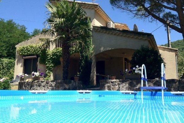 Villa Le Pont in Darbres - Bild 1