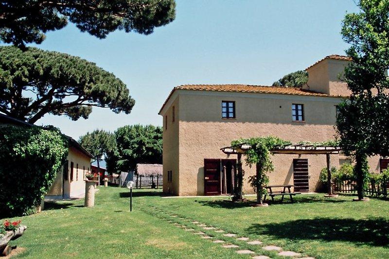 Landgut Il Vignone, hier das Haupthaus mit Il Vignone B3