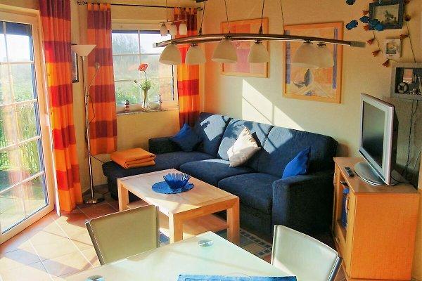Ferienhaus Bello neues Sofa April 2017
