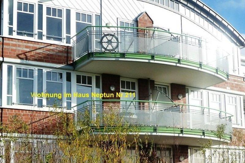 Haus Neptun mit Whg.211