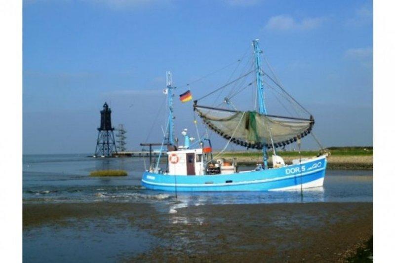 Hafeneinfahrt Dorum