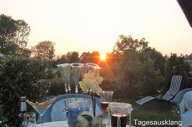 Tagesausklag Terrasse Storchennest