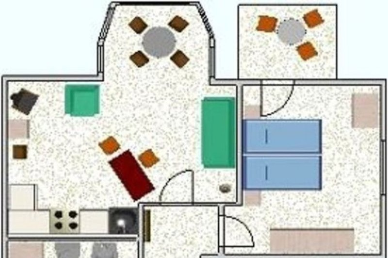 Grundriss Haus Elbstrom