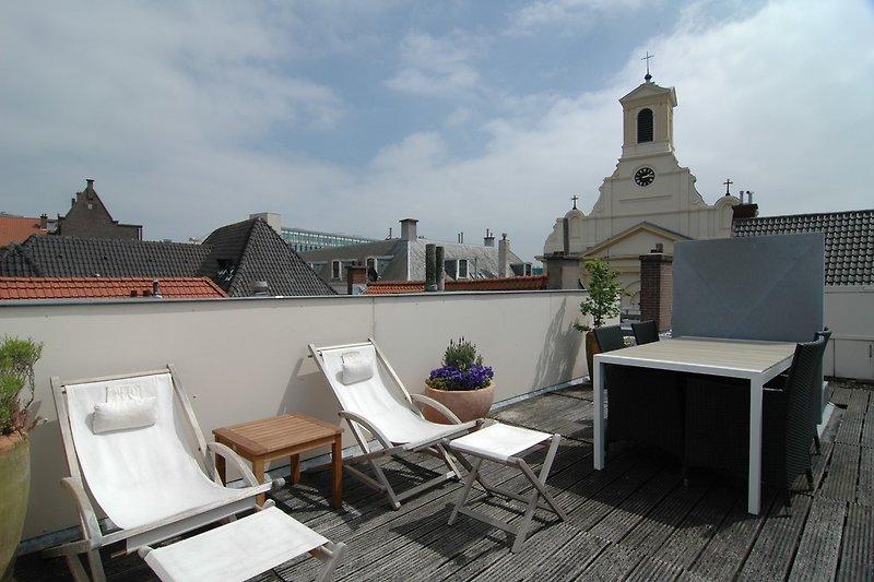 terrace sur le toit