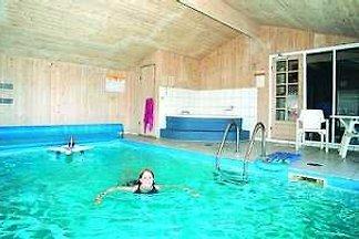 poule Pool maison de plage au Danemark