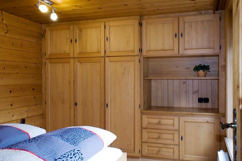 Schlafzimmer Apartment Montafon